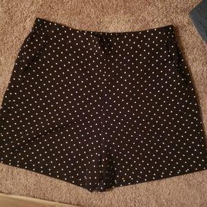 Talbots Petite Polka Dot Shorts